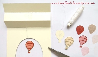 Stampin Up - Double Tent Fold Card - www.iLoveBasteln.wordpress.com